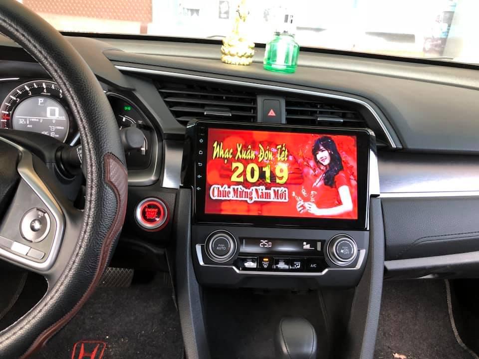 màn hình android  xe honda civic 2018