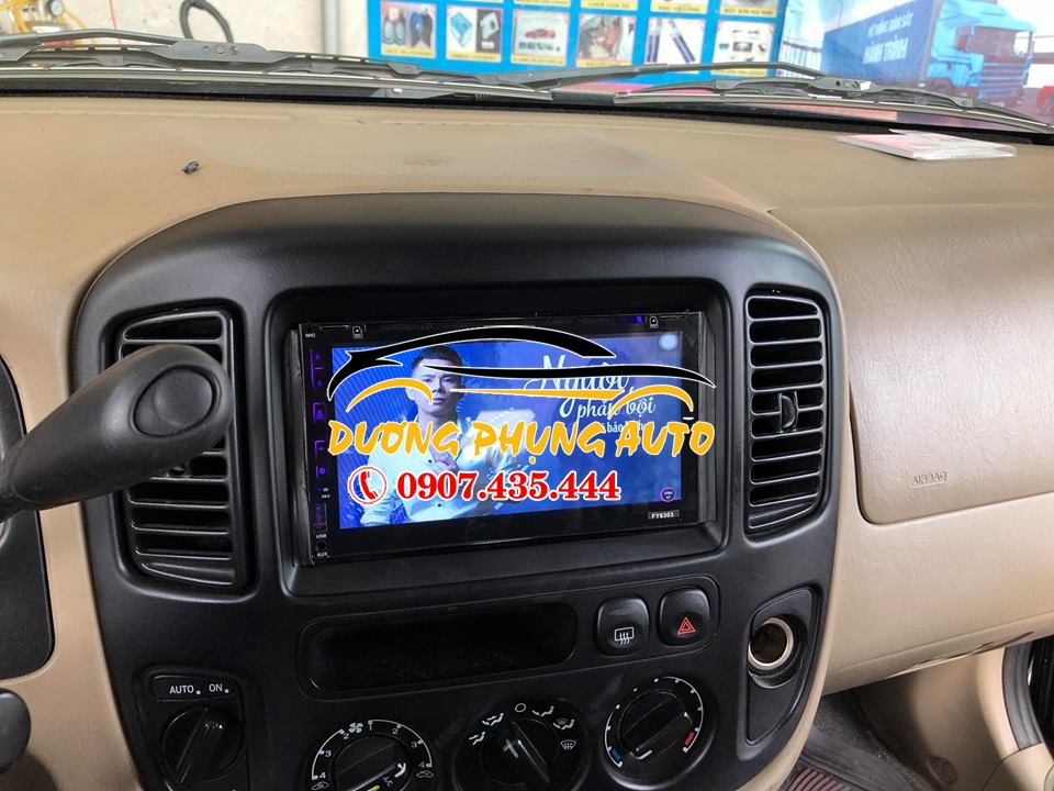 Đầu dvd android cho xe ford escape