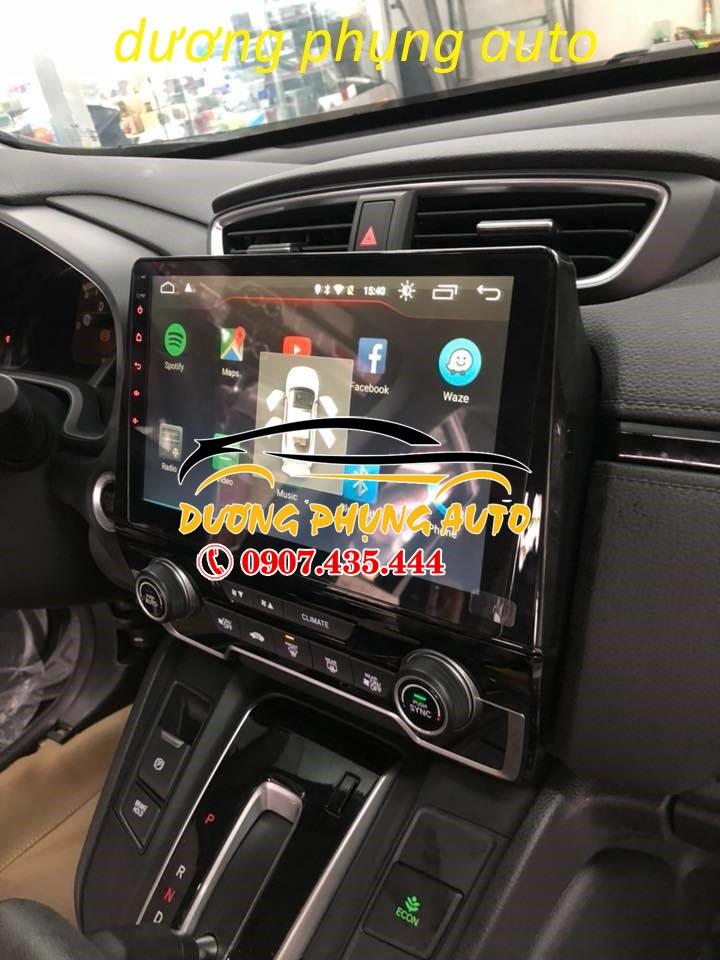 màn hình android  xe honda crv 2018