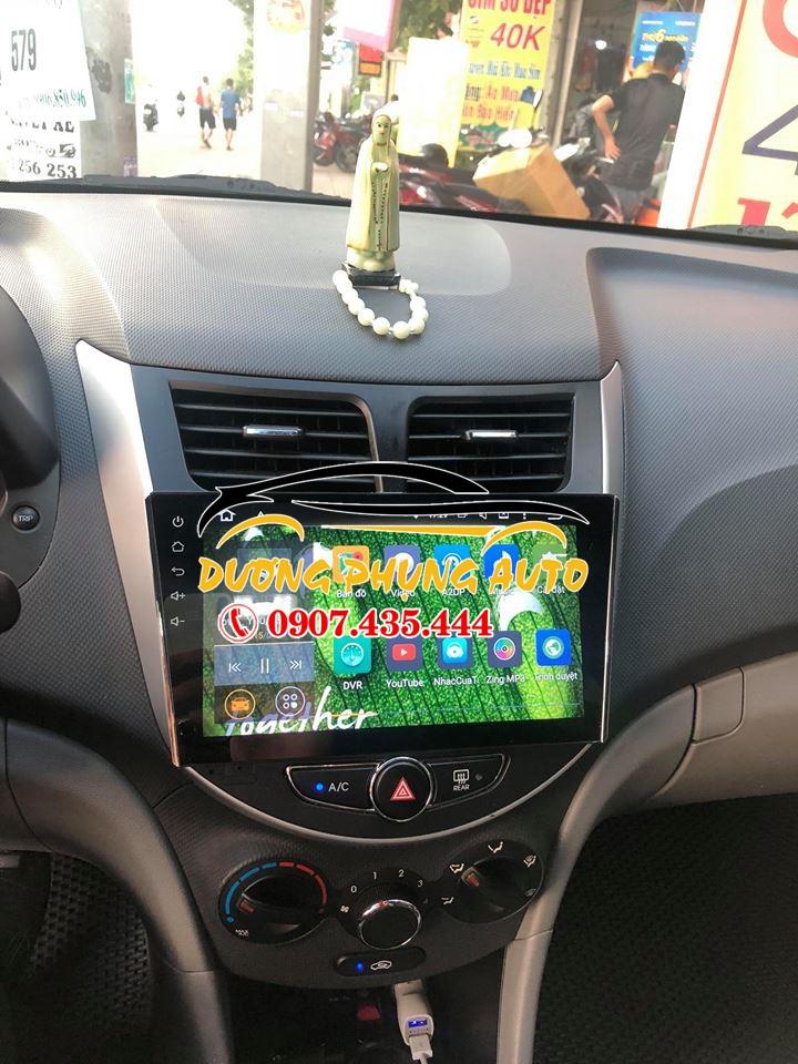 màn hình android  xe hyundai accent 2015