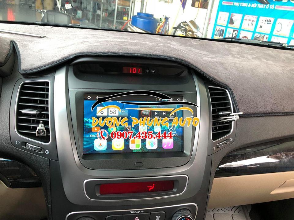 màn hình dvd android cho xe kia sorento 2017