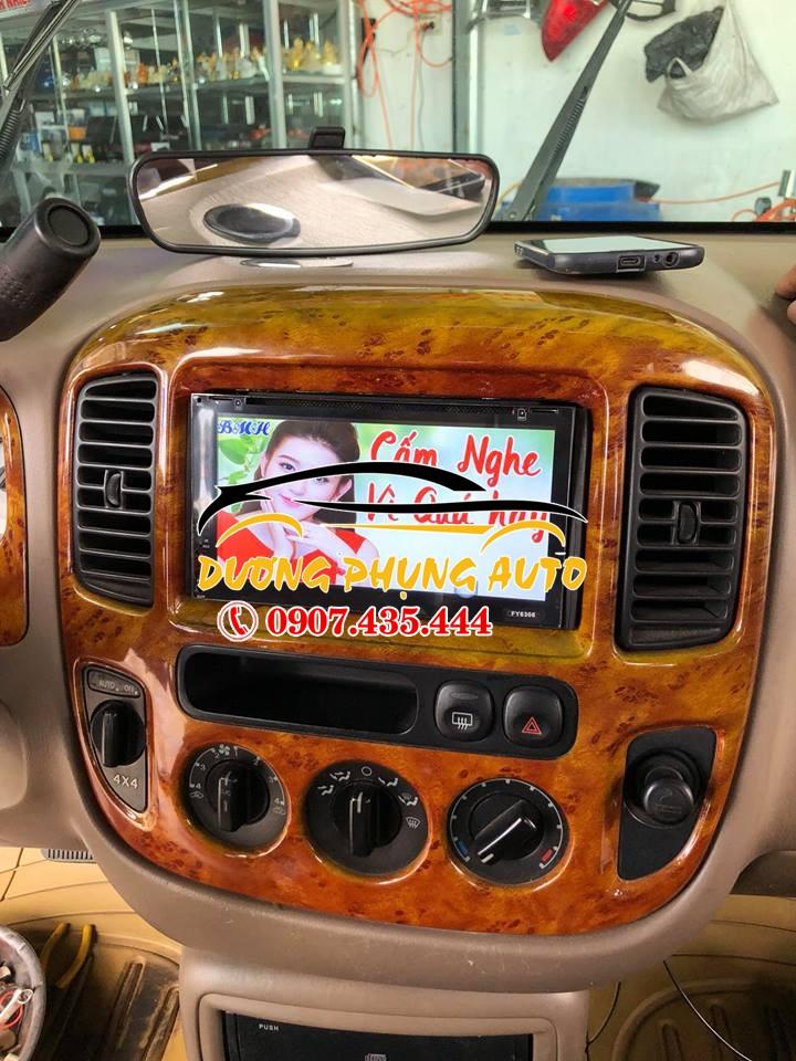 màn hình dvd android xe ford escape