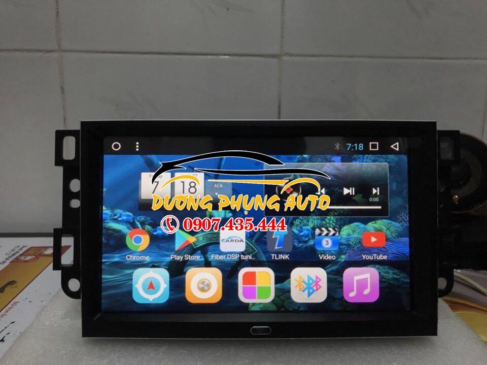 màn hình android  xe chevrolet captiva 2107