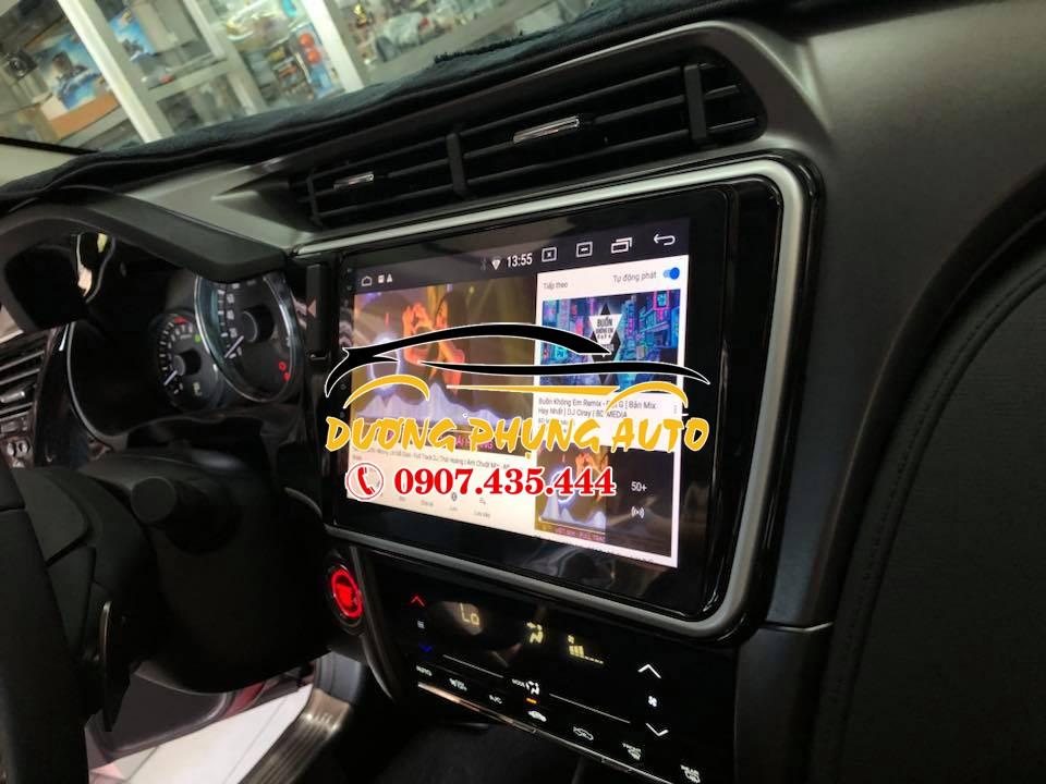 màn hình android  xe honda city 2018
